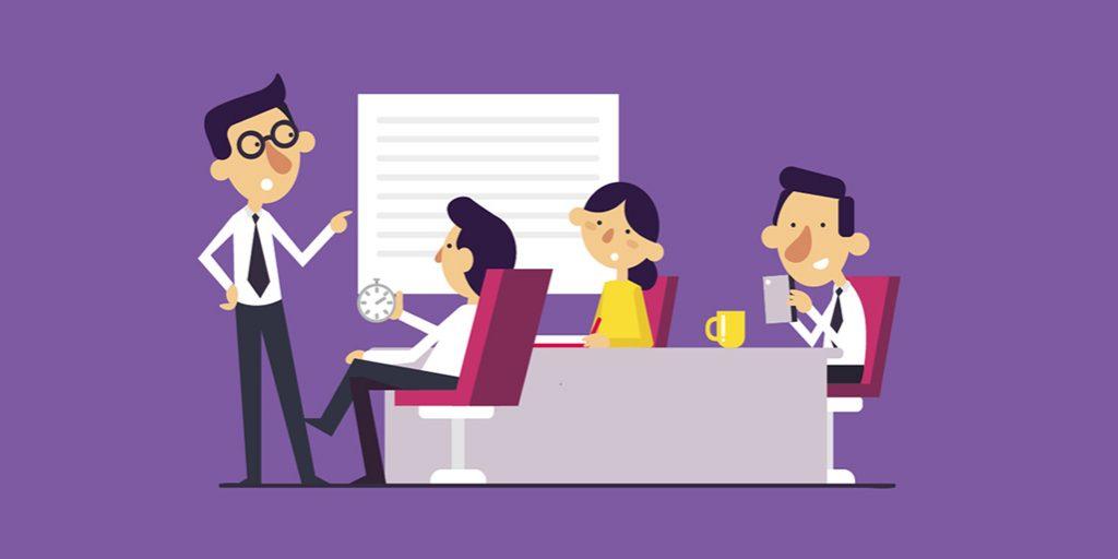6 Tipps für effiziente Meetings [Infografik]