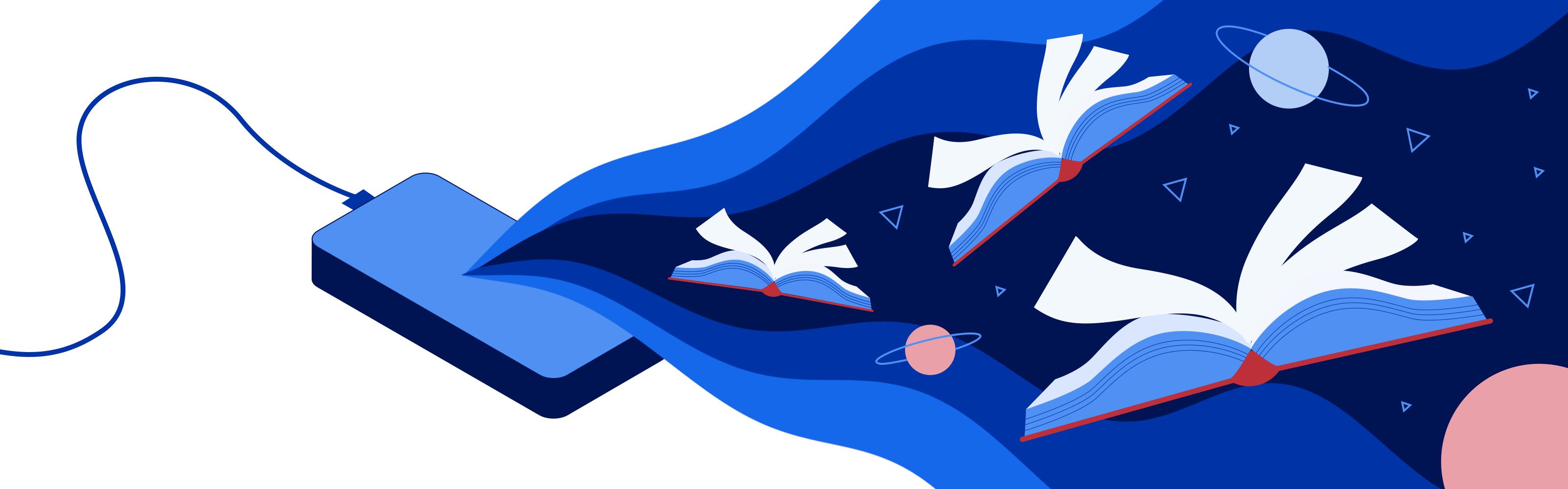 Illustration - E-learning App