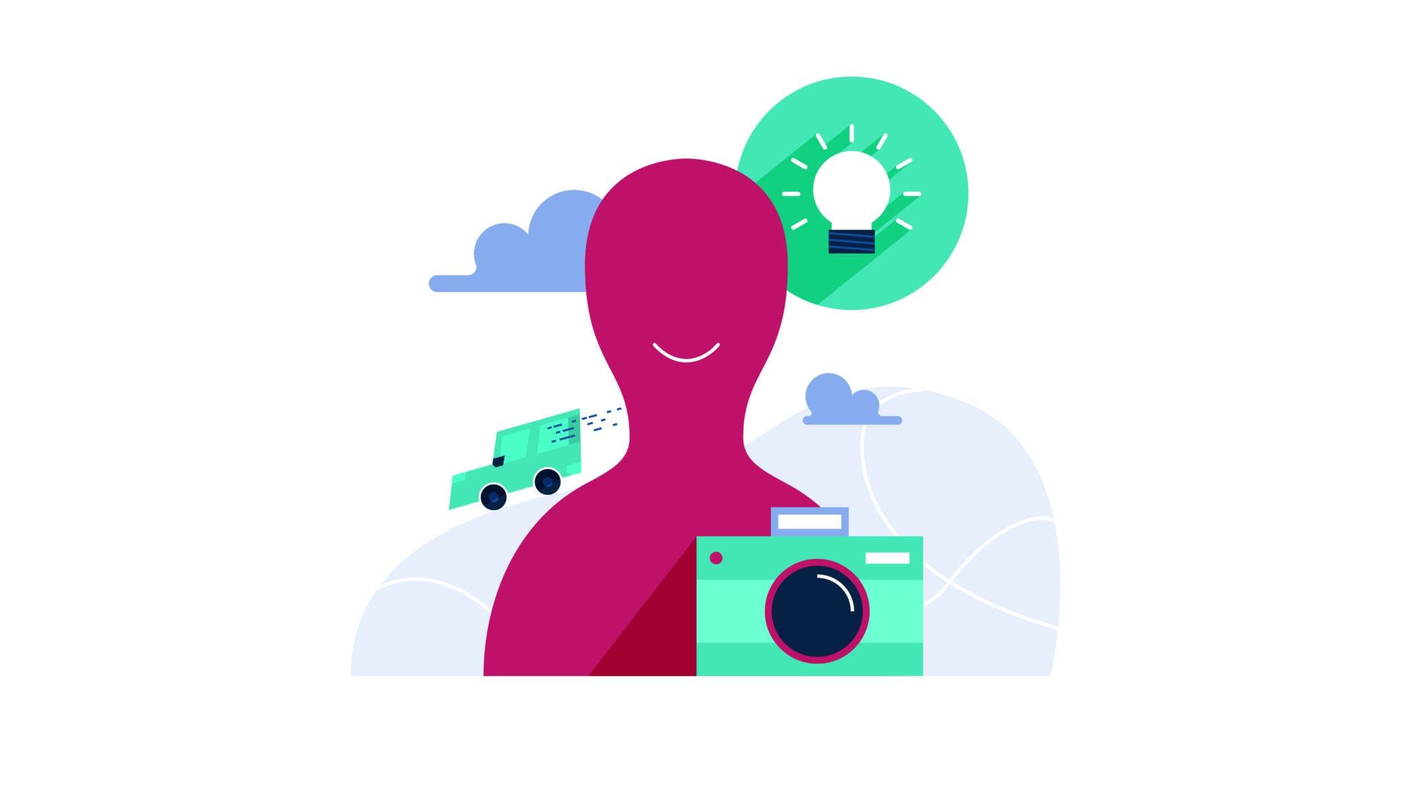 Illustration Cleverclip Produktpräsentation
