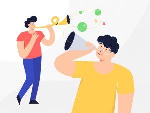 """Bild repräsentiert den Titel """"Was ist eigentlich ein Kommunikationsmodell 2019?"""""""