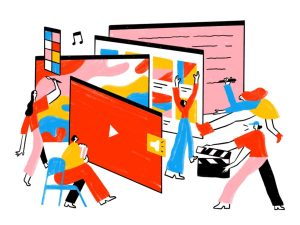 """Illustration """"Was ist ein Erklärvideo""""?"""