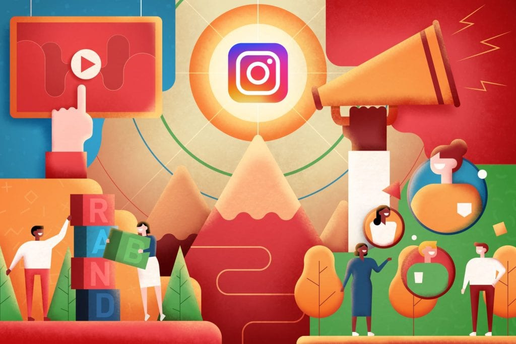 Communication efficace grâce à l'Instagram