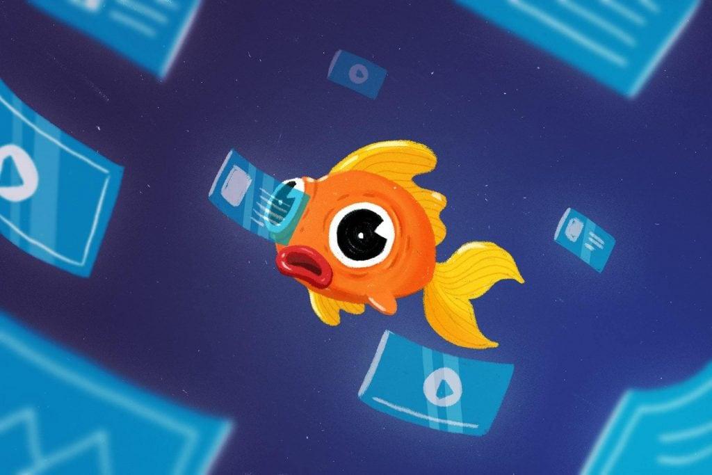 Schlechtes Content Marketing oder Generation Goldfisch?