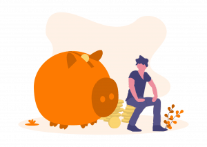 Illustration Savings