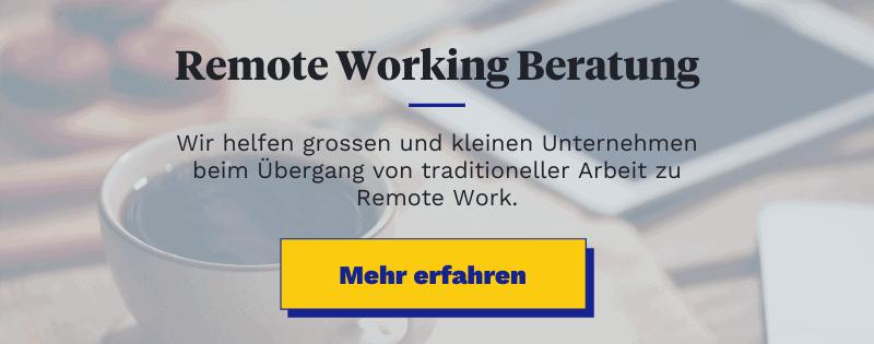 Remote Working Beratung