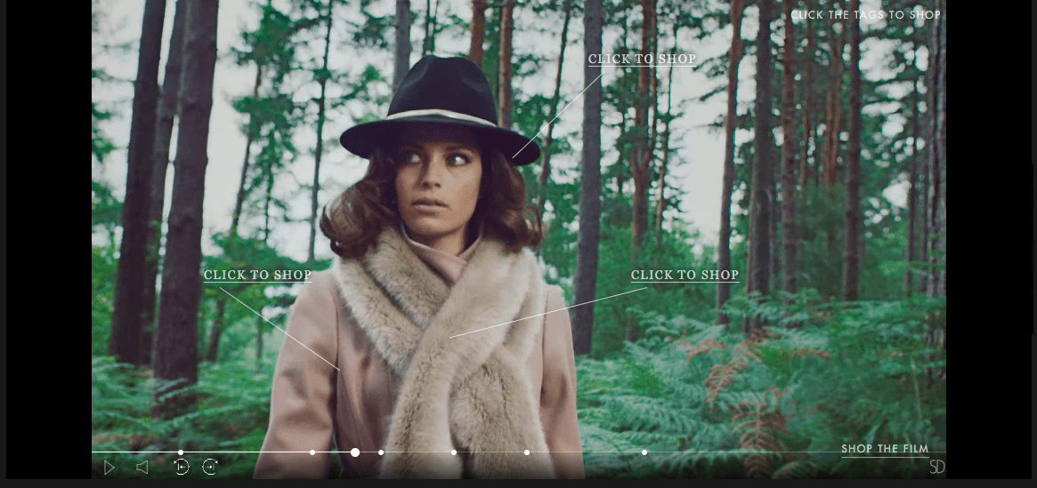 Ted Baker - Interactive Video