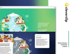 Protéger l'environnement, sauver la terre – un projet interactif de Cleverclip
